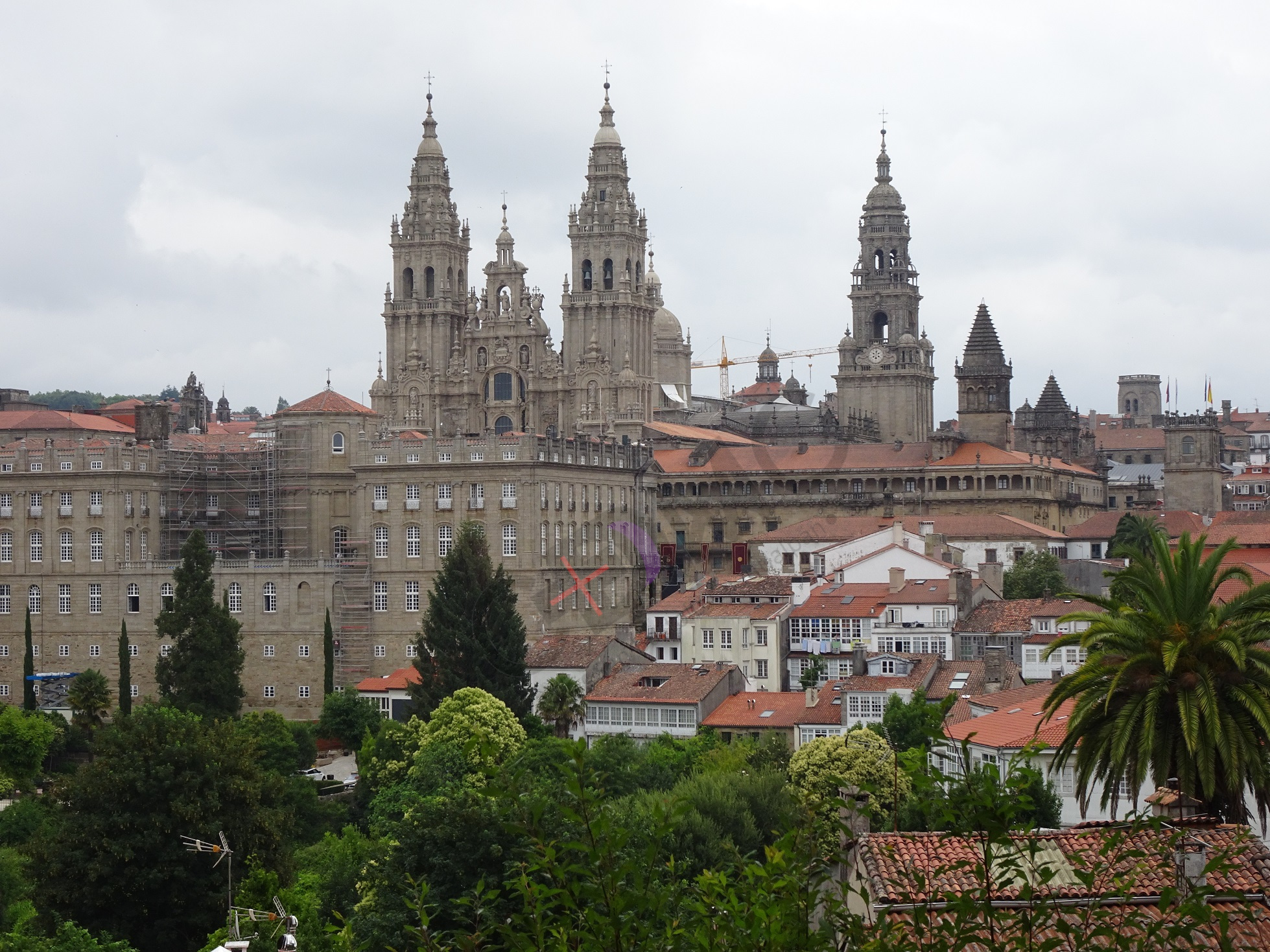 Catedral Santiago marcada