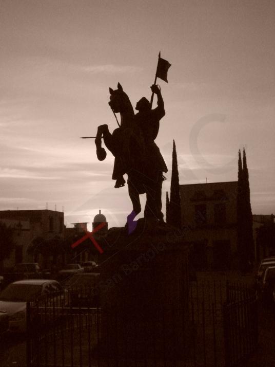 Santiago Estatua Marcada